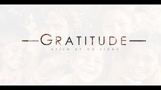 GRATITUDE | A FILM BY GD SIDHU | MUSIC REALY SLOW MOTION