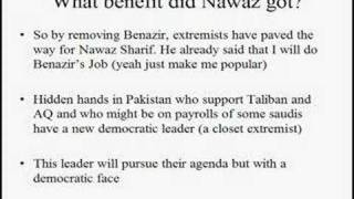 Benazir Bhutto Murder: Who benefits? Who is behind this?