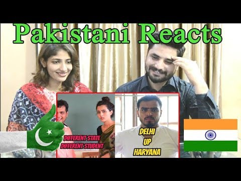 Pakistani Reacts To Different State Different Student- Amit Bhadana
