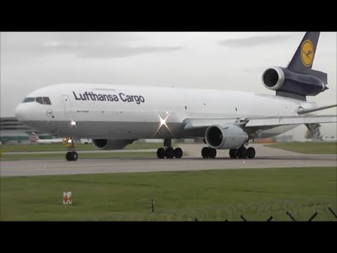 Manchester Airport, RWY23L Close Up Departures | 1 Hour Long! 20/10/14