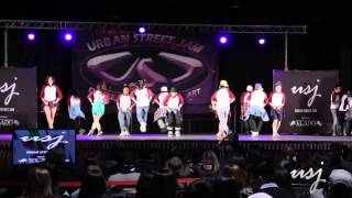 Cosmic Dance Crew [Exhibition] | Urban Street Jam 2015 [Official Video]