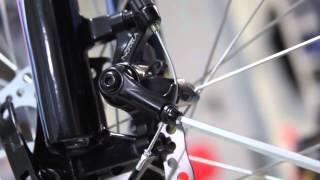 HOW TO... Как настроить механические дисковые тормоза (серия 4)(В этом видео показано как правильно выставить положение тормозной машинки относительно ротора (тормозного..., 2013-10-18T06:45:10.000Z)