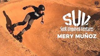 SUV skating with Mery Muñoz on METROPOLIS SUV skates