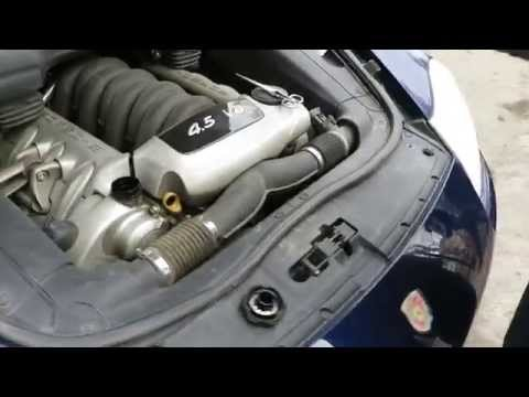 porsche cayenne типы двигателей
