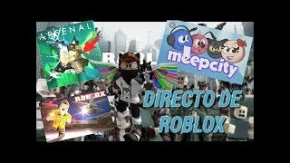🖤🐺ROBLOX LIVE PLAYING WITH SUBS .0🔥⚡ . . . . . . . . . . . . . . . . . . . . . . . . . . . . . . . . . . . ROAD800 SUBS ? #RobloxPeru💙🖤