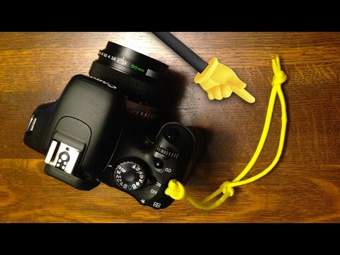 DIY Camera Wrist Strap | Quick FX