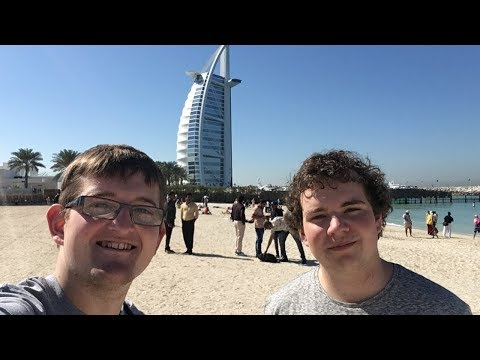 Dubai Sightseeing & Burj Khalifa Vlog January 2018