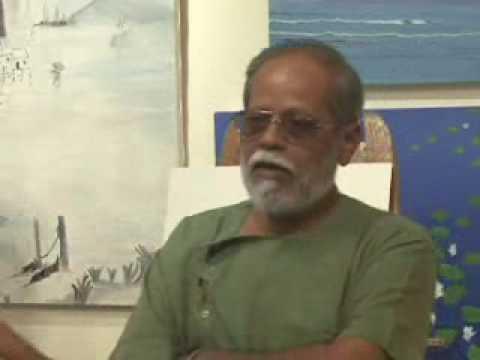 Demo by Shrikant Jadhav at Artfest 09 organised by Indiaart