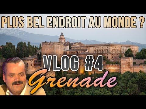 VLOG #4 Grenade - Alhambra: Le Plus Bel Endroit Au Monde ?