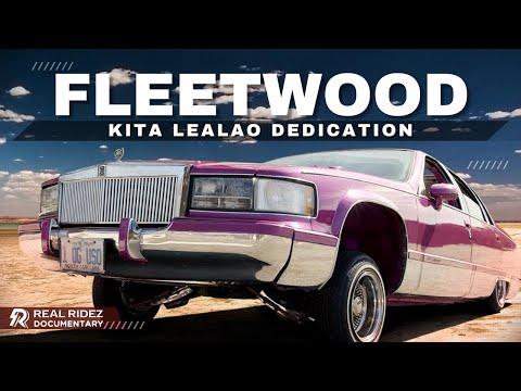 1994 Cadillac Fleetwood Lowrider - Kita Lealao Last Ride - Real Ridez 4k Video