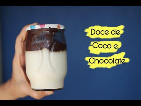 DOCE NO POTE DE COCO COM CHOCOLATE - Na Crise dos Vinte! #7