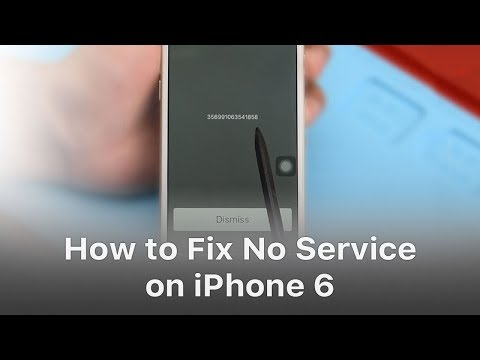 How To Fix No Service On iPhone 6?
