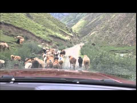 Beautiful Xinjiang China Deep Deep into the Mountains (Uyghur Land)