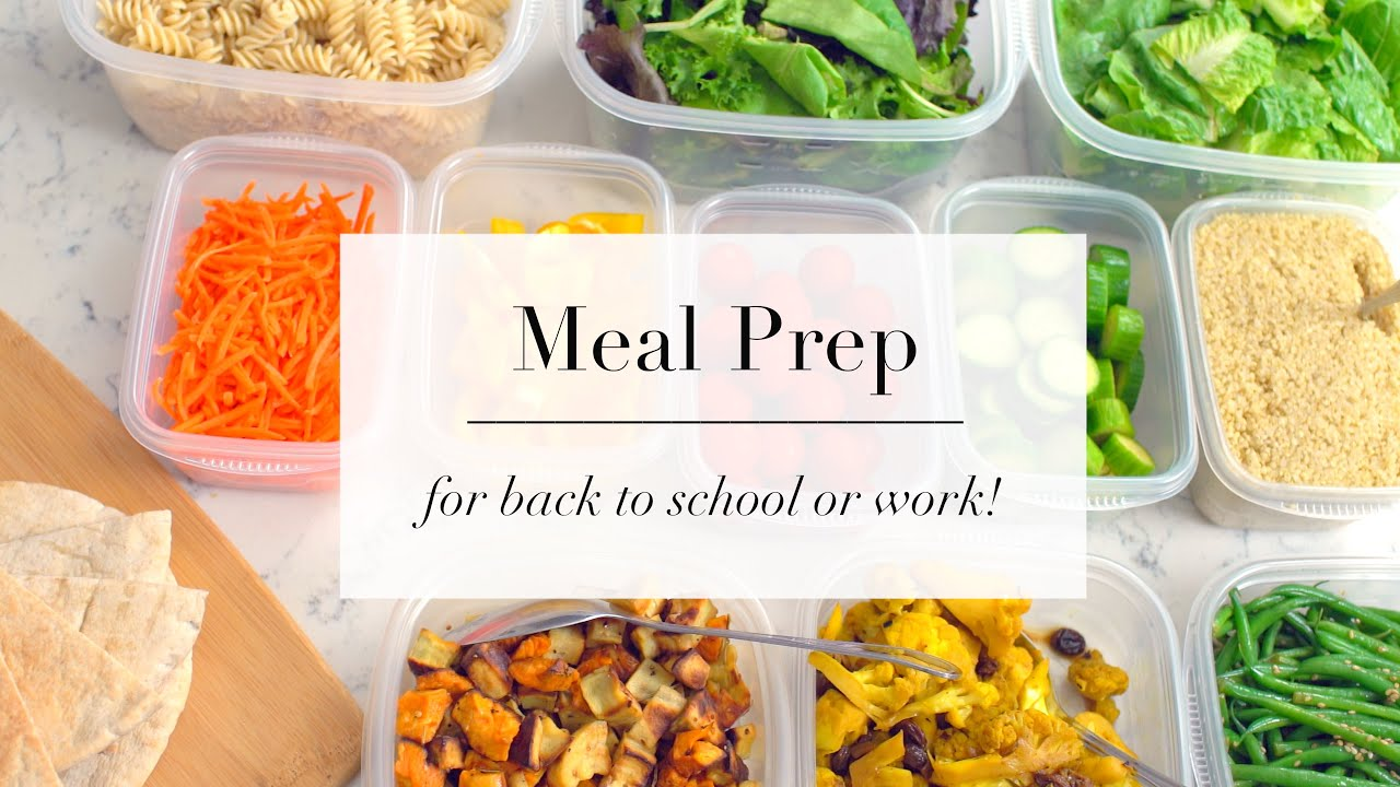 How to meal prep for beginners easy recipe plan ann le youtube forumfinder Gallery