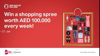 Win a AED 100,000 shopping spree every week!