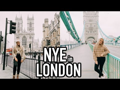 Spending NEW YEARS in LONDON