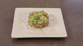 Sweet Tuna And Avocado Appetizer