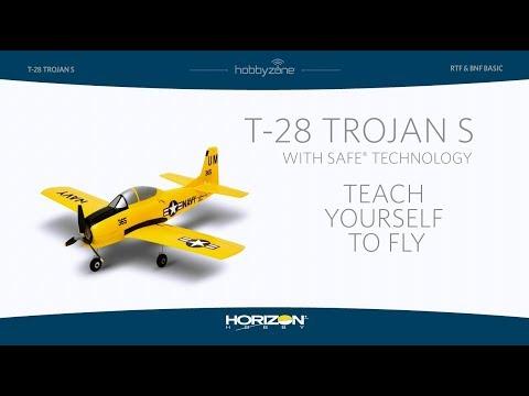 HobbyZone T-28 Trojan S with SAFE