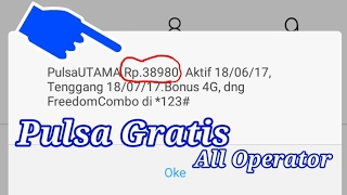 Download Video Trik mendapat pulsa gratis All operator MP3 3GP MP4