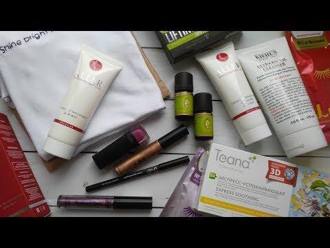 Культовая косметика Kiehl's, Sleek MakeUP, TEANA и другие новинки в моей косметичке!