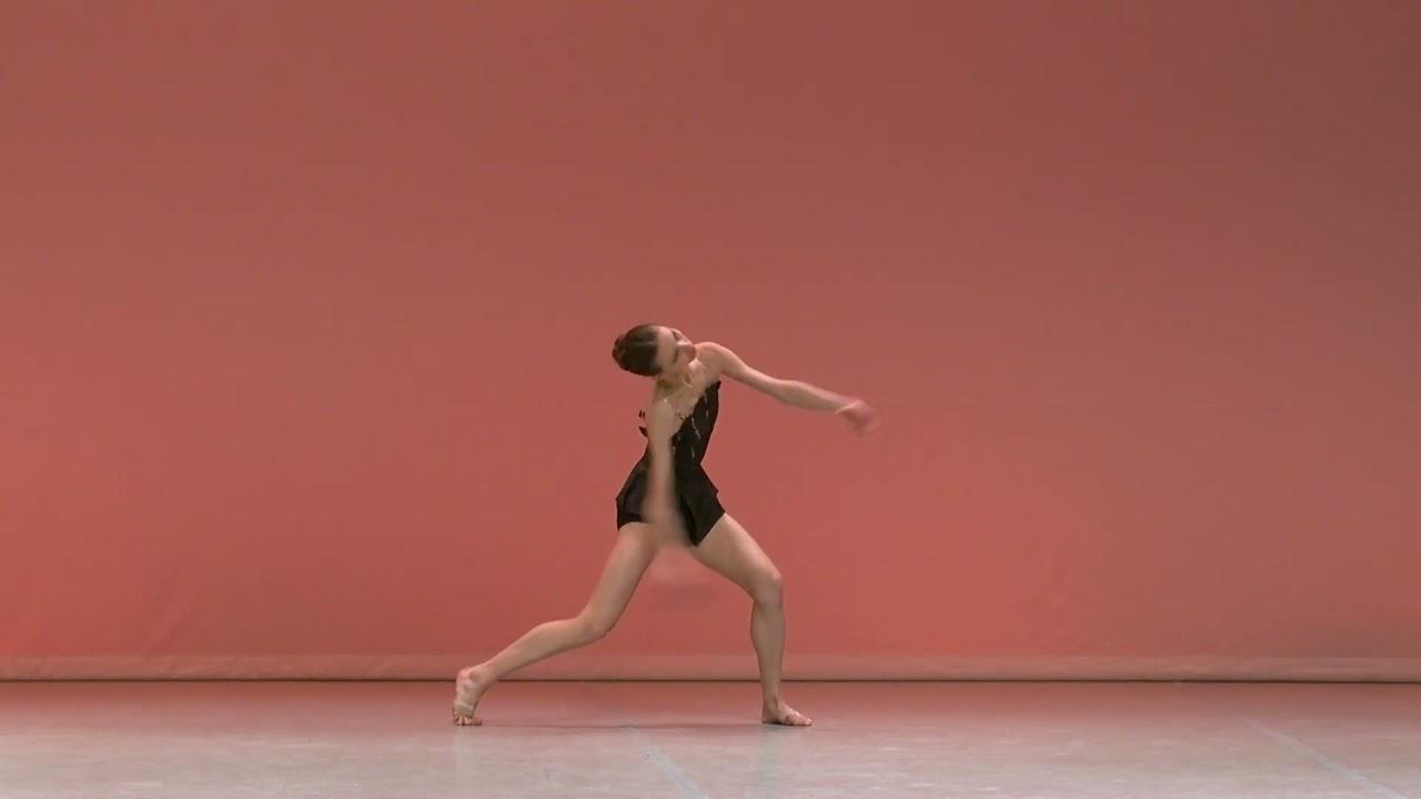 Prix de Lausanne 2020 | Katya Panchenko Solo de Rossini Cards (Bayer Ballet)