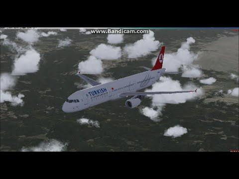 FSX Turkish Airlines Ankara to Istanbul - Airbus A321