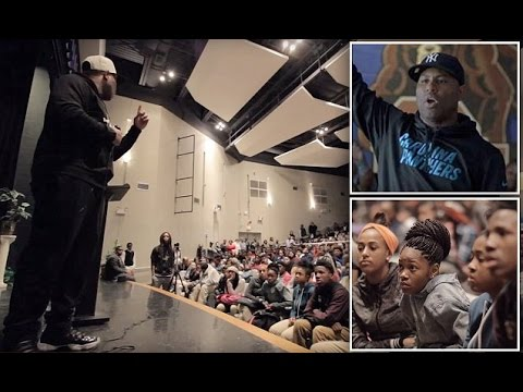 "Motivational Speaker At School Says ""Only Kids That Disrespect Him Are Black"", And I Know Why"