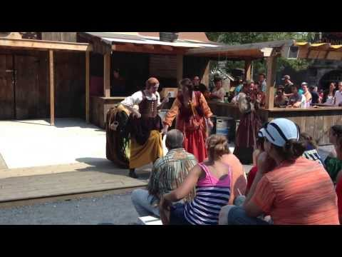The Trooper and the Maid (Sultry Sirens of Sin - PA Renaissance Faire 9/2/2013)