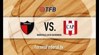 Bonaerense: Club Presidente Derqui vs. Atlético Pilar   #TFB