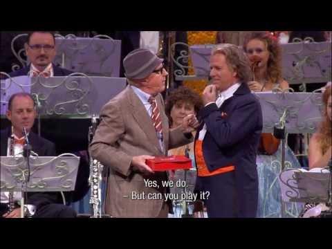 "André Rieu - The Beautiful Blue Danube feat. André van Duin as ""Meneer Wijdbeens"""