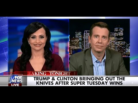 • Katrina Pierson & David Plouffe Analyze a Clinton / Trump Election • 3/2/16 •