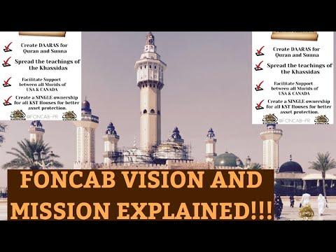 FONCAB VISION AND MISSION EXPLAINED!!!