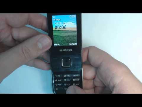 Samsung E2330 factory reset