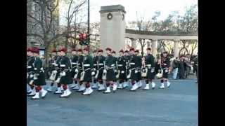 The Black Watch Regiment of Canada (R.H.R.) - 2010 Remembrance Day Parade 2010