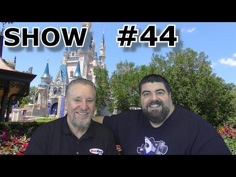 BIG FAT PANDA SHOW #44 with Guest Daniel Sisneros - Author - Disney Tale of the Tape - Feb 28, 2017