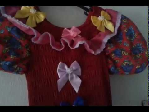 Vídeo Aula Como Customizar Vestido De Quadrilha