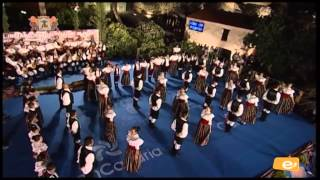 Clausura XIX Festival Internacional de Folklore Villa de Ingenio 2014