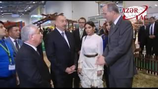 Prezident İlham �liyev XXIII Azərbaycan Beynəlxalq Qida Sənayesi sərgisi ilə tanış olub