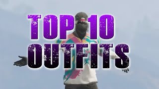 GTA 5 ONLINE - MY TOP 10 COOLEST OUTFITS #3!