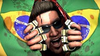 Mortal Kombat X Brazil Johnny Cage All Brutalities & Fatalities Ultra GTX 970