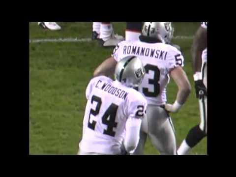 Raiders @ Broncos 2002 - Rod Woodson int. that turned the Raiders