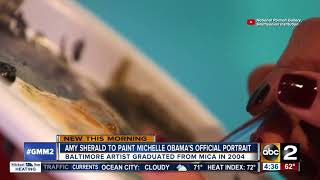 Baltimore artist to paint official portrait of Michelle Obama