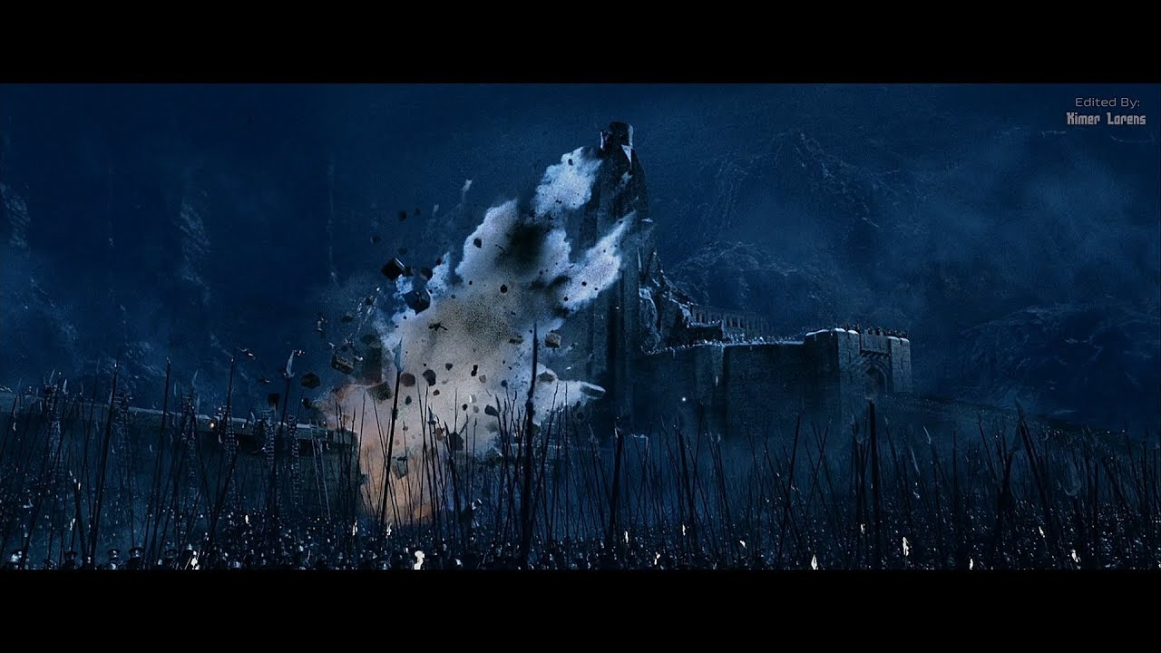 Download The Lord of the Rings (2002) -  The final Battle - Part 2 - The Breach Of The Deeping Wall [4K]