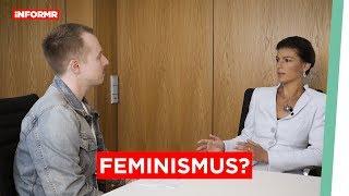 Sahra Wagenknecht: Feminismus im Bundestag?