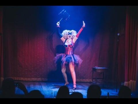 Gogo Incognito as Harley Quinn Burlesque