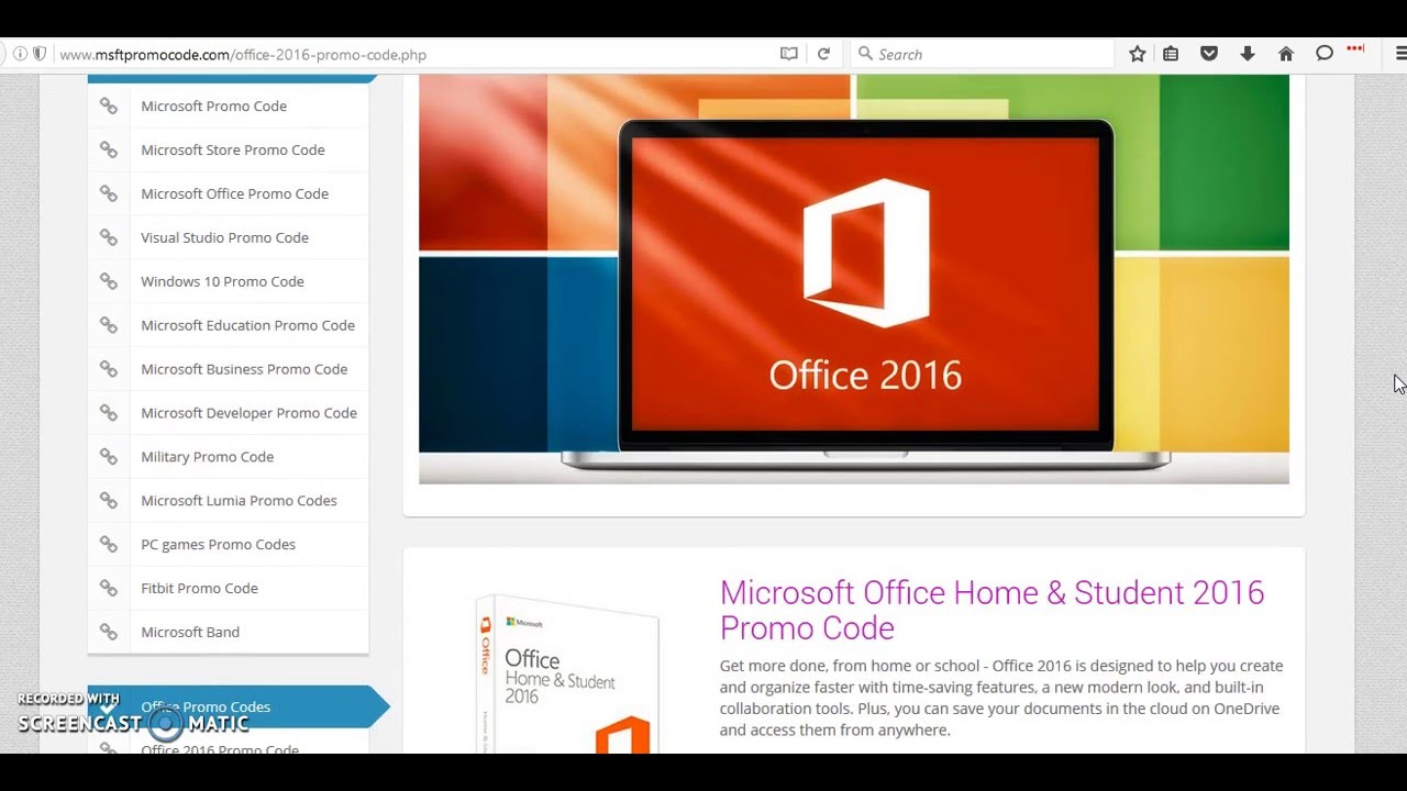 office 2016 promo code save 20 on microsoft office 2016 youtube