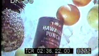 1970s Color Archival Footage - Hawaiian Punch Commercials - Stock Footage