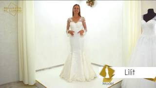 Wedding dress Lilit from Bellezza e lusso Video review