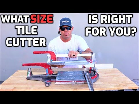What SIZE Tile Cutter Is Right For YOU?