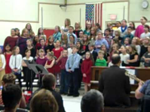 We Wish You A Merry Christmas - Woodside 4th & 5th Grade Chorus